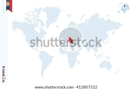Serbia Map Stock Images RoyaltyFree Images Vectors Shutterstock