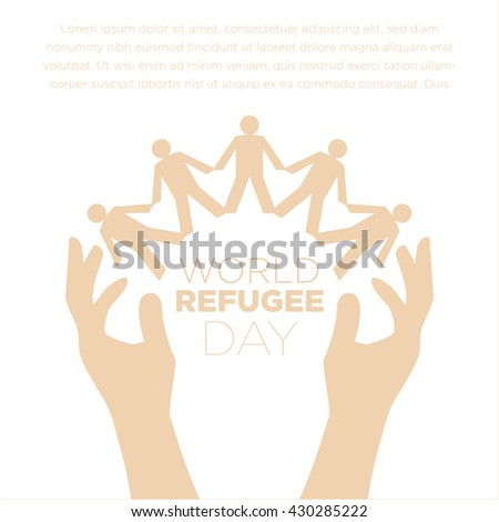 world refugee day stock images royalty free images vectors shutterstock. Black Bedroom Furniture Sets. Home Design Ideas
