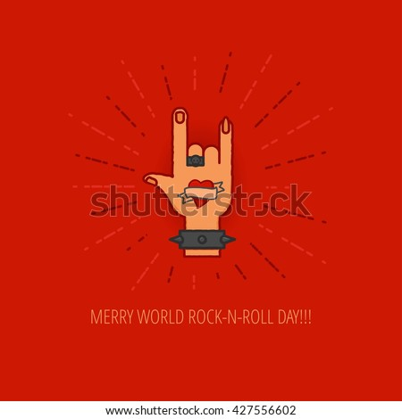 Devil Horns Hand Stock Images, Royalty-Free Images ...