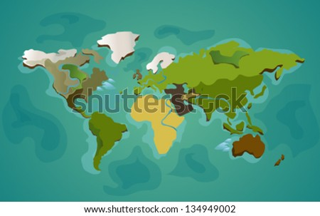 World's map