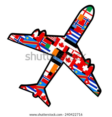 World travel - stock vector