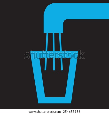 World water day concept background  - stock vector
