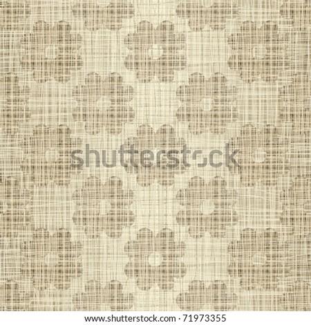 Woven interlacing a background - stock vector