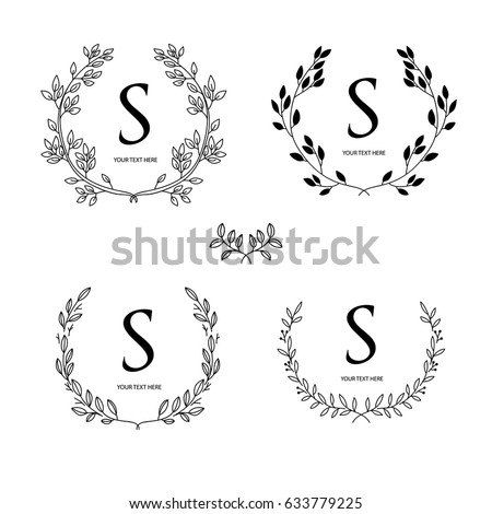 Wreath Vector For Logo And Banner