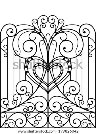 Iron wrought gate grill window together with 287 in addition V Letter V For Velta likewise 246783254553082381 moreover Id J 109101. on art nouveau furniture design