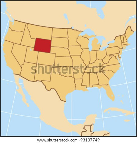 Wyoming Locate Map