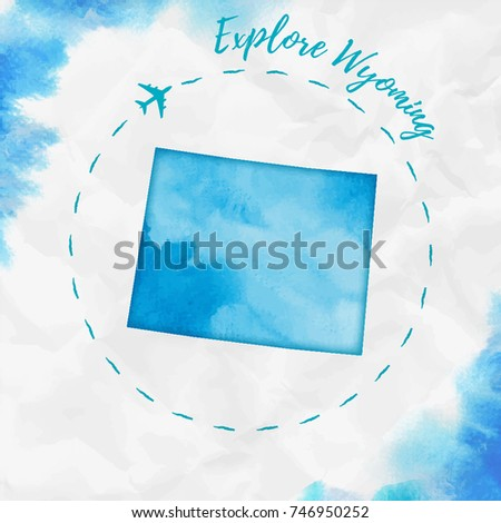 Map Of Wyoming Stock Images RoyaltyFree Images Vectors - Us map wyoming