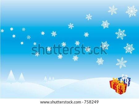 Xmas background, greeting card, best wishes
