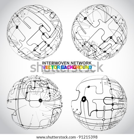 xmas-ball - stock vector