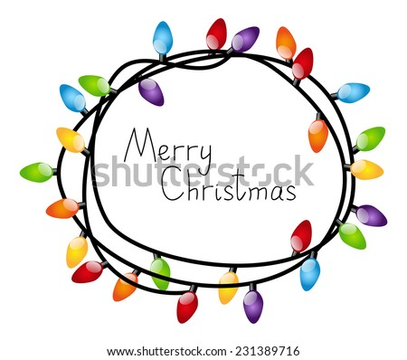 Big Bulb White Christmas Lights