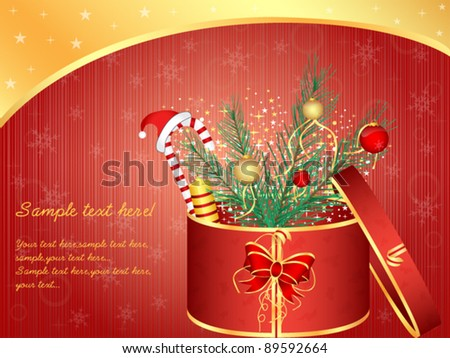Xmas Vector Background Set