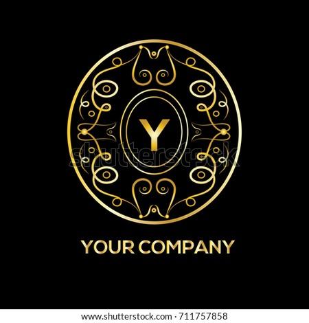 Y letter luxury monogram boutique hotel stock vector hd royalty y letter luxury monogram boutique hotel stock vector hd royalty free 711757858 shutterstock altavistaventures Images