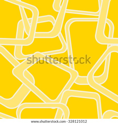 Yellow abstract background inspired by Pop-Art and 60s