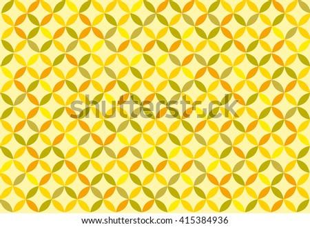 Yellow background. Retro. Vector - stock vector