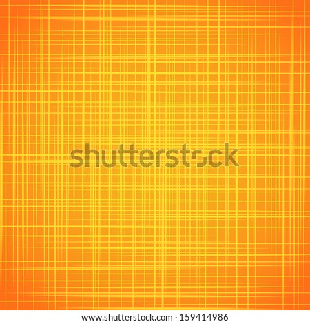 Yellow cloth texture background. Vector illustration - stock vector