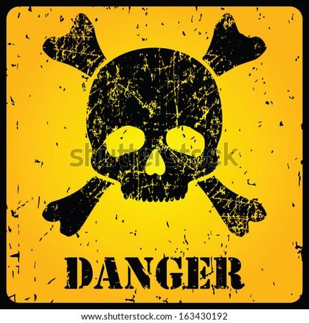 skull danger sign stock images royaltyfree images
