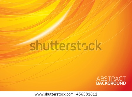 Yellow elegant abstract background illustration