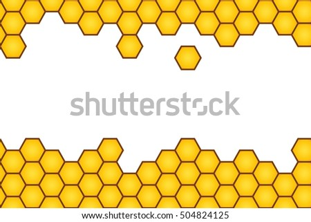 Yellow hexagonhoneycomb background pattern vector space stock yellow hexagonhoneycomb background pattern vector with space in the middle voltagebd Image collections