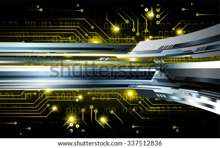 yellow illustration of technology internet network computer background with binary number, style. infographics. Information. motion blur. pixel. Binary digit. number. vector. silver