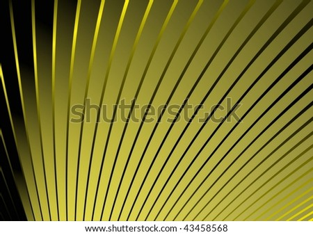 Yellow modern lined background