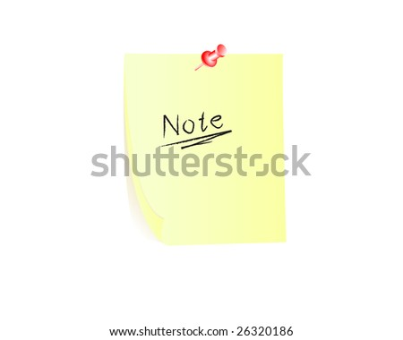 Yellow notes notepaper