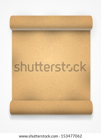 yellow paper sheet texture - stock vector