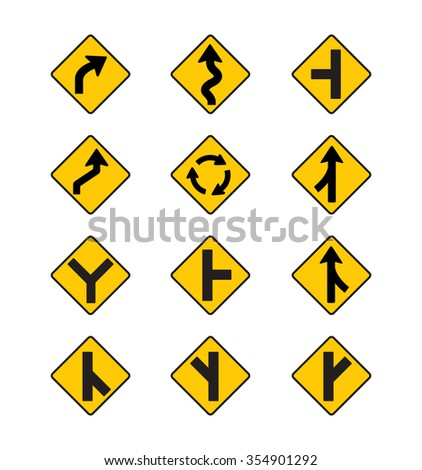 all safety signs vector stock vector 208518478 shutterstock