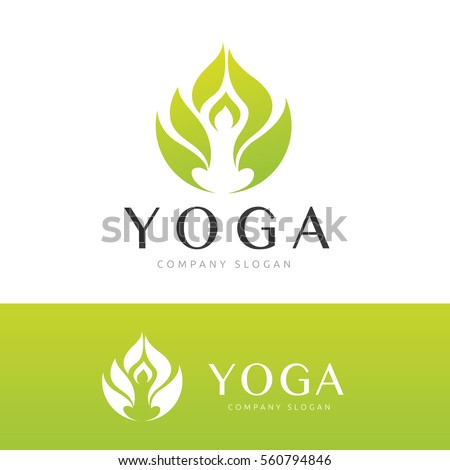Yoga Logo Stock Images, Royalty-Free Images & Vectors | Shutterstock