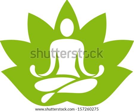 Yoga Symbol Stock Vector 157260275 - Shutterstock