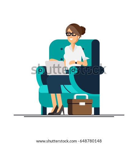 https://thumb9.shutterstock.com/display_pic_with_logo/2727169/648780148/stock-vector-young-adult-woman-working-at-home-vector-concept-illustration-freelancer-female-character-working-648780148.jpg