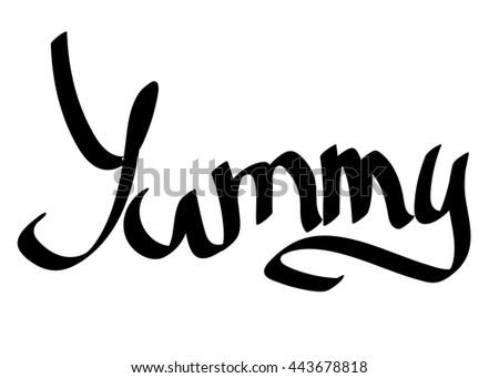 Yummy word images