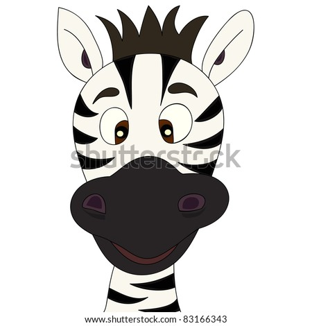 Zebra head cartoon images - photo#13