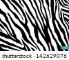 Zebra Pattern vector. EPS 10 - stock vector