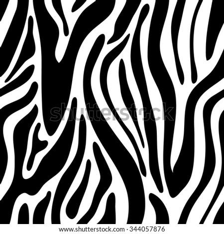 Zebra seamless vector pattern. Safari collection. Backgrounds & textures shop. - stock vector