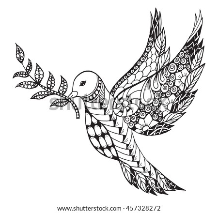 Dove Carrying Leaves Line Art Design 411687811 also Gold Fish Zentangle Style 447155908 moreover Stock Illustration Whale Coloring Page as well Stock Image Vector Sea Horse Patterned Design Image36236581 also Seahorse tattoo. on stock illustration vector monochrome hand drawn zentagle sea