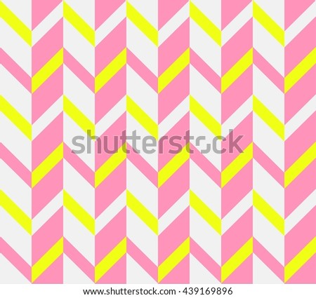 Zigzag background, yellow, pink colors.