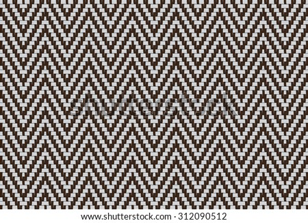 Zigzag pattern Gray and white