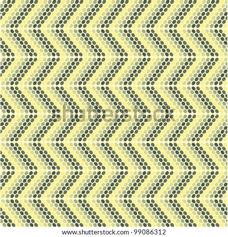 Zigzag pattern with oval models