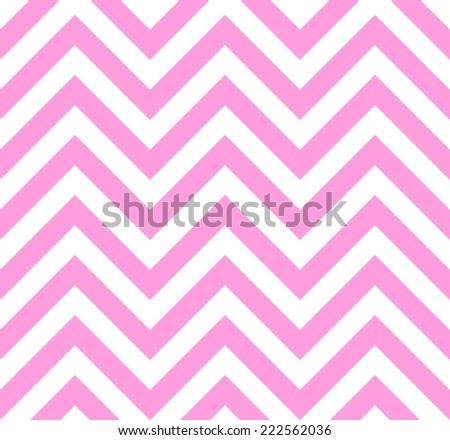 Zigzag seamless background in pink color - stock vector