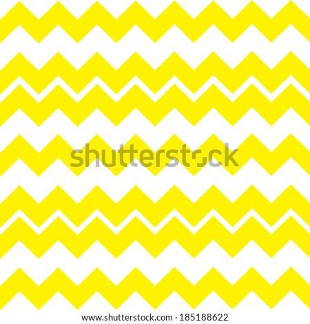 Zigzag seamless Chevron pattern Light Yellow Vector Background.