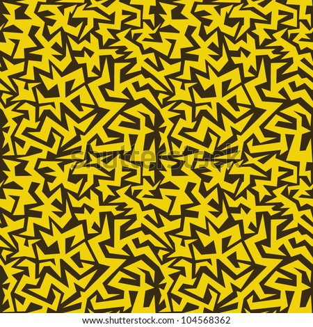 zippers seamless pattern - stock vector