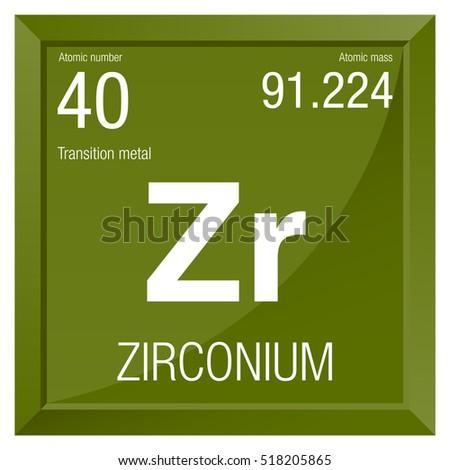 Zirconium symbol element number 40 periodic stock vector 518205865 zirconium symbol element number 40 of the periodic table of the elements chemistry urtaz Gallery
