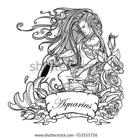 zodiac signs coloring pages - libra free coloring pages