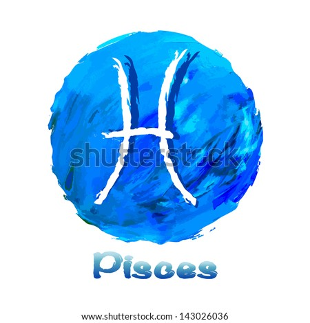 On a multicolored background painted with oil paints stock vector